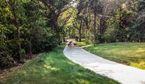 hike and bike trail design, civil engineering, trail alignment studies, storm drainage infrastructure design, construction administration